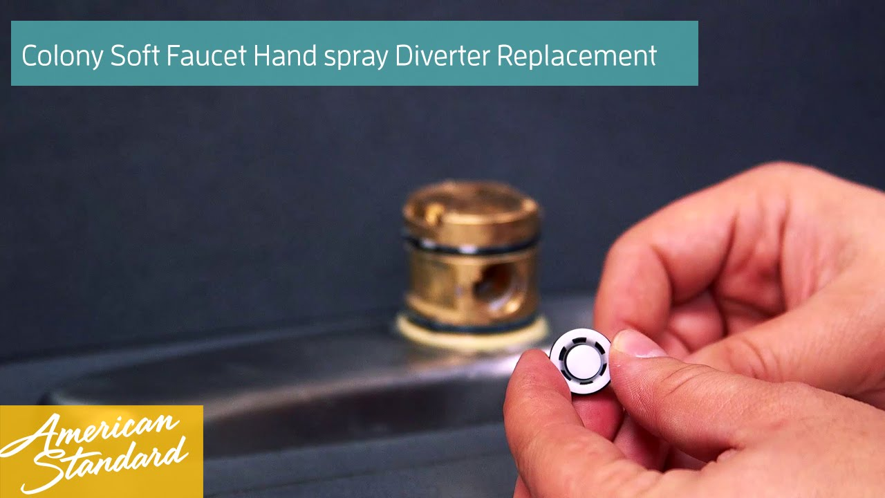 How To Replace The Hand Spray Diverter