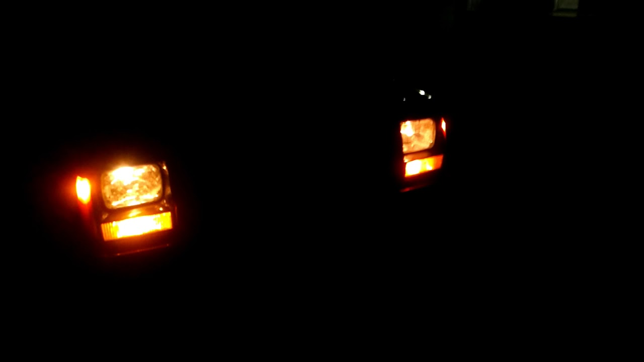Jeep Xj 96 Headlight Flickering Youtube