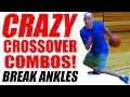 Crazy Basketball Crossovers REVERSE UTEP Combos How To Break Ankles