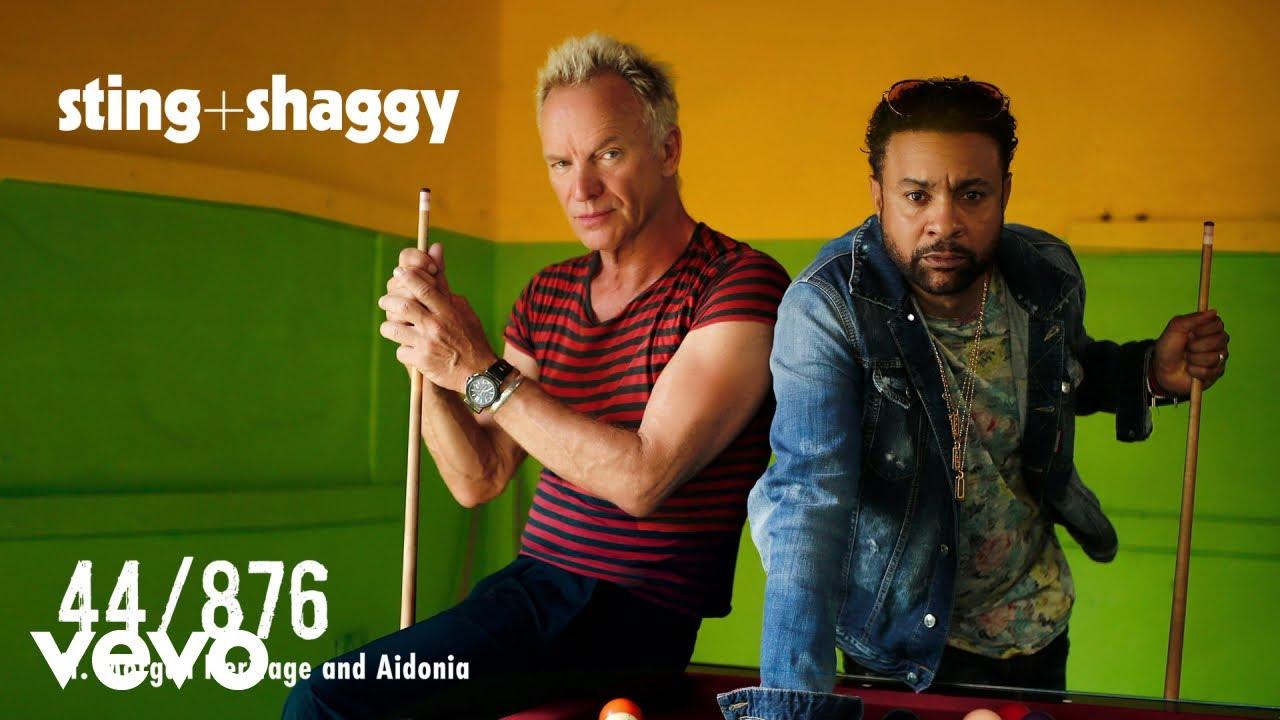Sting, Shaggy - 44/876 (Audio) ft  Morgan Heritage, Aidonia