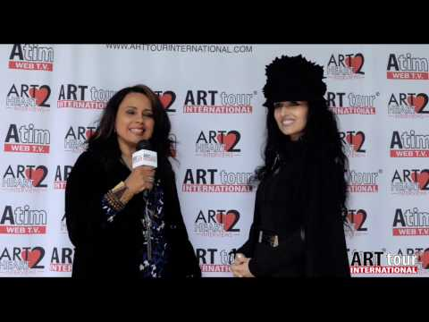 Viviana Puello Art 2 Heart with artist Sónia Domingues