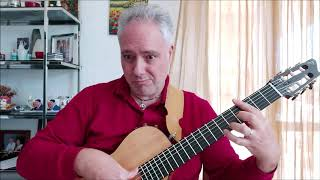 Francesco Buzzurro plays Stella by starlight (music by Victor Young)