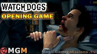 Watch Dogs ™ | Bottom of the Eighth | 1st Mission [ Opening Game ] ACT 1