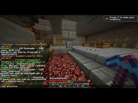Minecraft: Raiding A Rich Admin Nether Headquarters