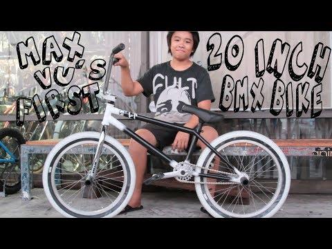 BUILDING MAX'S FIRST 20 INCH CULT BMX BIKE
