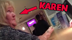 Crazy Woman Freaks Out at Hotel