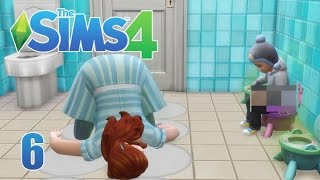 Let's Play The Sims 4 || SEVEN Toddler Challenge || 6 || Potty Training Trials!