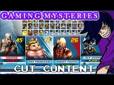 Gaming Mysteries: Playstation All Stars Battle Royale / Title Fight (PS3 / Vita) Cut Content