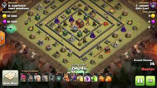 taking on the dragon's lair new goblin maps #21-25 clash of clans by smurf