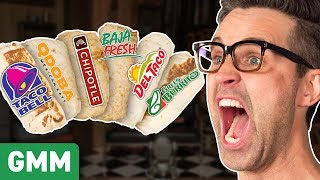 Who Makes The Best Burrito? Taste Test