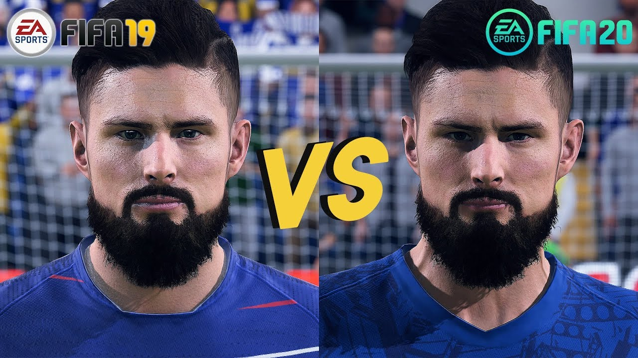 Image result for fifa 20 vs fifa 19