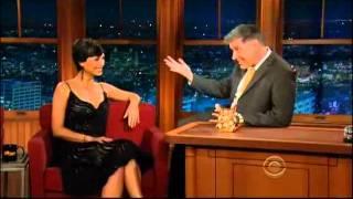 Craig Ferguson 121311E Late Late Show Morena Baccarin
