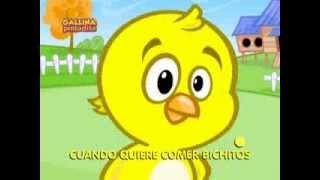 Pollito Amarillito   Video de Canción infantil para tu bebé y tu hijo
