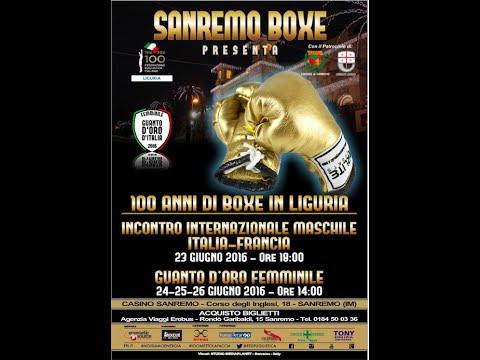 Dual Match MASCHILE ITALIA VS FRANCIA  Sanremo 23/06/2016