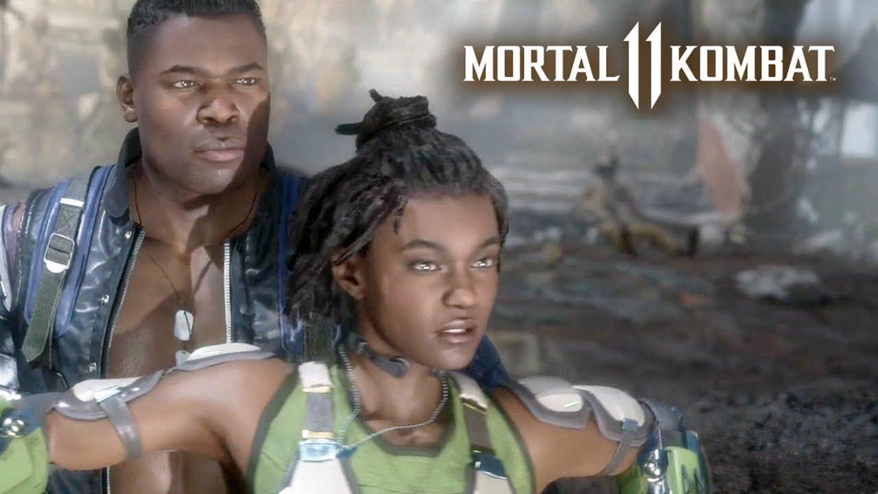 MORTAL KOMBAT 11 #9 - Jax e Jacqui Briggs | Campanha em Português PT-BR no PS4 Pro