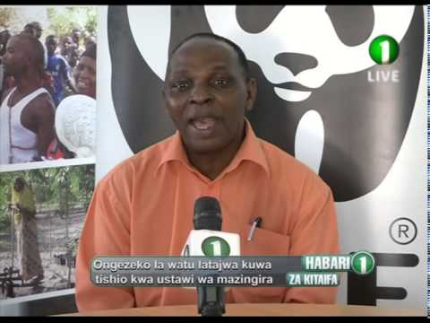 WWF Tanzania on TV1 News - World Environment Day June 5 2015