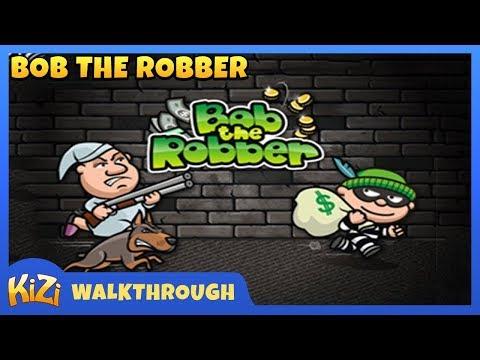 [Kizi Games] Bob The Robber → Walkthrough