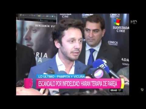 Benjamín Vicuña caliente con los periodistas: ¿Ahora me quieren?