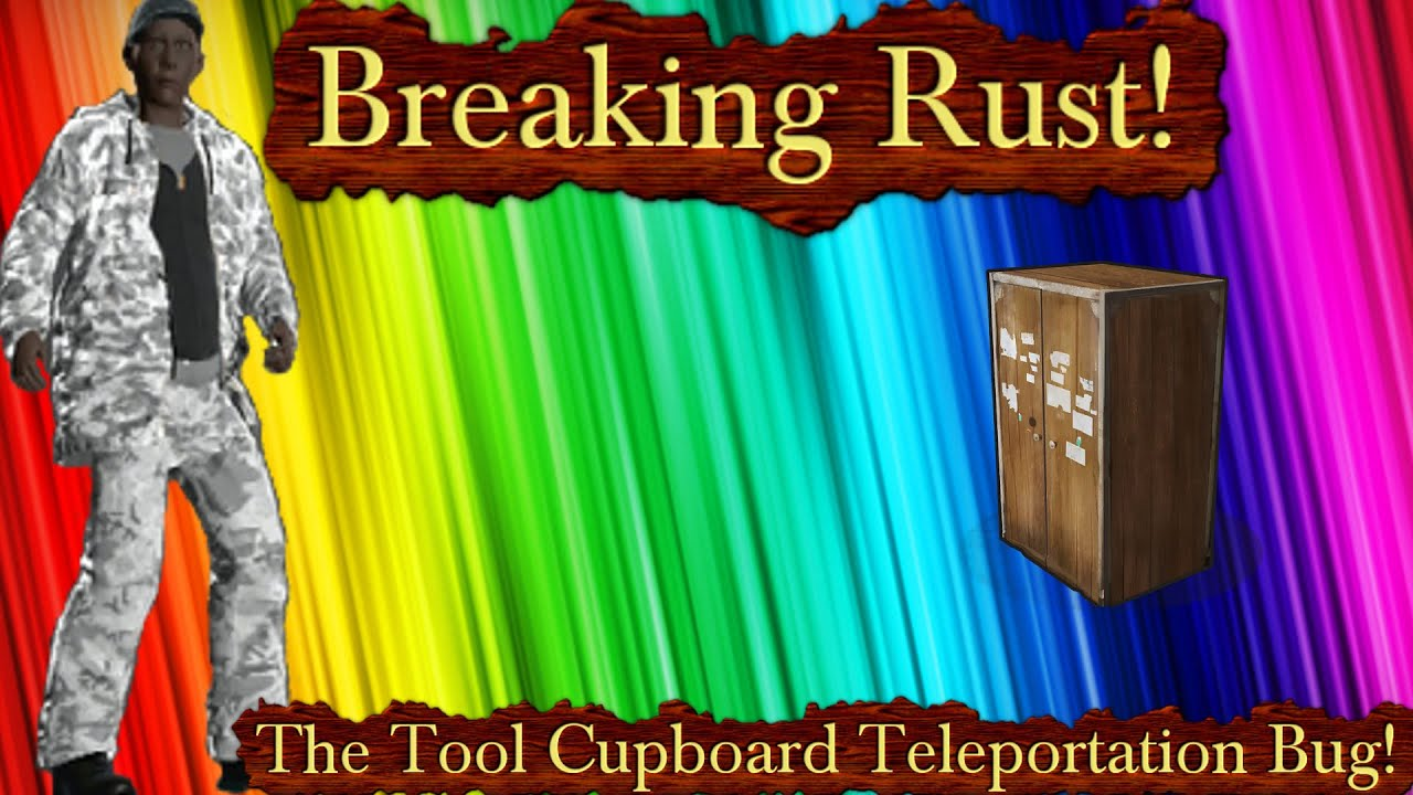 Rust how to destroy tool cupboard