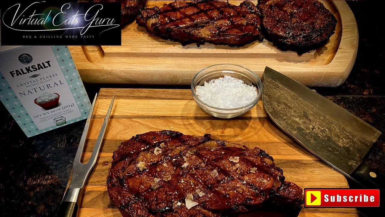 Download Reverse Sear Ribeye Steak Traeger Pellet Grill