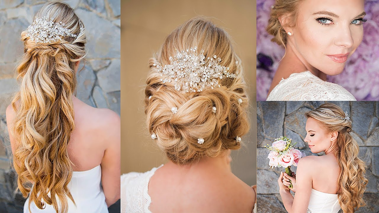 how to style hair for wedding classic bridal hair styles tutorial 2953