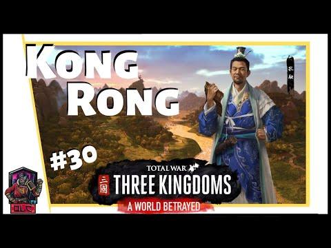 MA YUNLU Vs GAN NING - Total War: Three Kingdoms - A World Betrayed - Kong Rong Let's Play #30