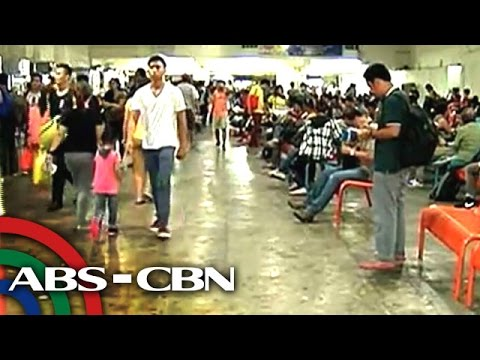 More Holy Week travelers flock to bus terminals