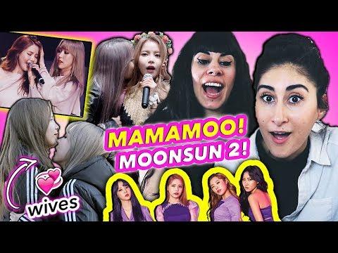 NON K-POP FANS REACT TO MOONSUN of MAMAMOO 2!   마마무 외국인 반응