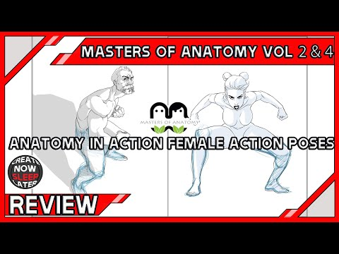 Masters Of Anatomy Book 2 - Anatomy in Action & Book 4