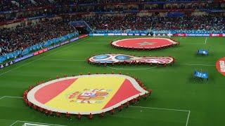 تبوريشة من روسيا: عش أجواء المباراة التاريخية المغرب 2-2 إسبانيا من الملعب!Spain Morocco