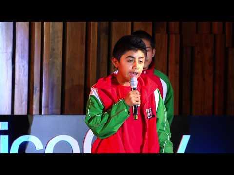 Sergio Zúñiga y niños triquis] | TEDxYouth@MexicoCity 2014