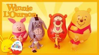 Winnie l'ourson - Poupées gigognes - Poupées russes - Titounis