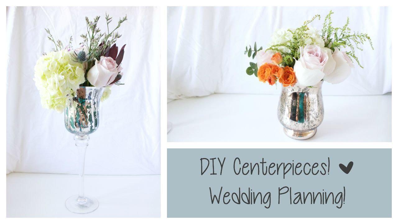 DIY Center Pieces! | Wedding Planning - YouTube