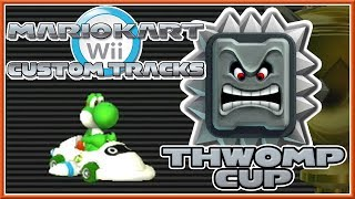 Mario Kart Wii Custom Tracks - Thwomp Cup