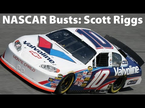 NASCAR Busts: Scott Riggs