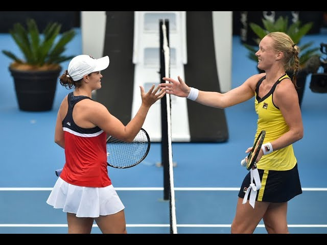 Ashleigh Barty vs. Kiki Bertens | 2019 Sydney International Semifinals | WTA Highlights