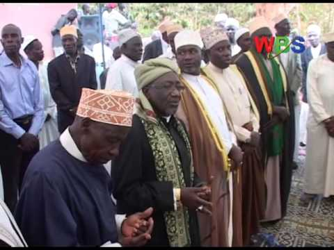 Muslims hold joint prayers at Nakasero Mosque in efforts towards unity