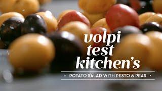 Pesto Potato Salad with Peas