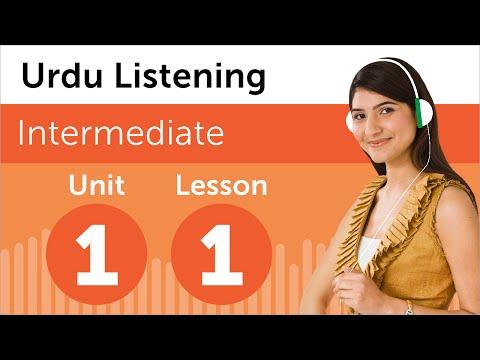 Urdu Listening Practice - Looking At Apartments in Pakistan