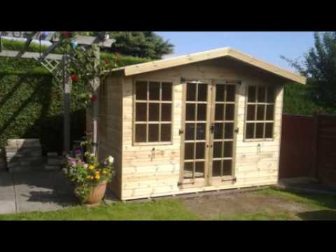 garden sheds nottingham rose cottage summer houses youtube