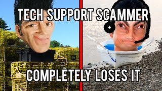 Microsoft Tech Support Scammer Loses His Sh*t - The Hoax Hotel
