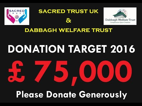 Urgent Syria Appeal 2016 by Sacred Trust UK