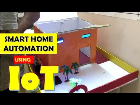 SMART HOME AUTOMATION using IoT   Final year project   Engineering Project   Simple & Easy Project  