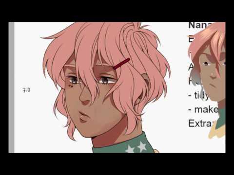 Random Character Designs (Bishonen Generator) Speedpaint
