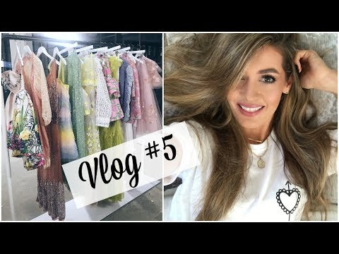 VLOG #5 ASOS SS18 COLLECTIONS PREVIEW & MINI HAUL