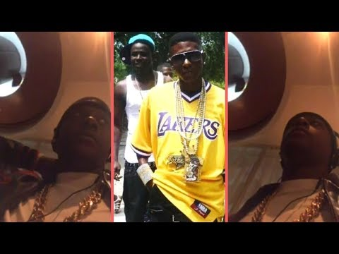 "Boosie Tells Story Of His Best Friend ""Bleek"" Passing While He Was Locked Up In Louisiana (2018)"