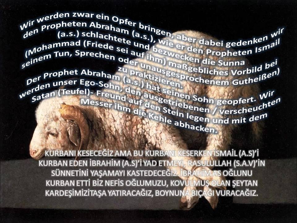 Abdullah Murad Şükrüoğlu Hocaefendinin Kurban Bayrami