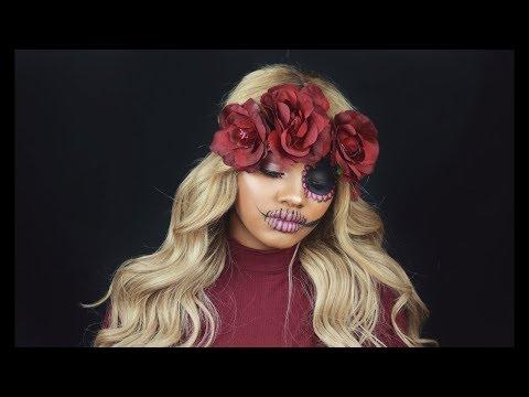 Halloween Corps Bride Makeup Tutorial   Jazzie Jae T