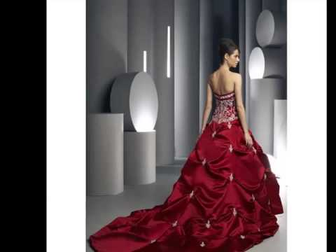Red And White Wedding Dress.Red White Wedding Dress The Color Red Pics For Young Modern Fashion Lifestyle