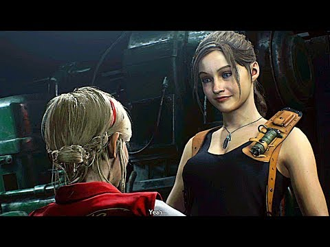 RESIDENT EVIL 2 REMAKE All Cutscenes Movie (Claire Story)